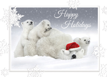 Polar Playtime Holiday Greeting Cards