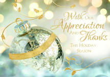 Radiant Wishes Holiday Cards